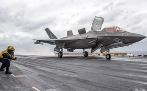 Picture weapons, the plane, F-35B Lightning II