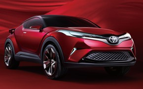 Picture Toyota, crossover, C-HR