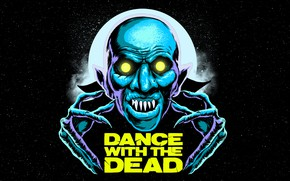 Picture New Retro Wave, Synthwave, Music, Art, Horror, Electronic, Dark Synth, Cover, Dance With the Dead, …
