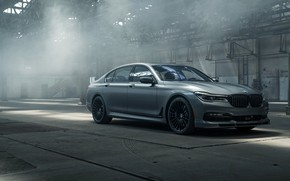 Picture BMW, sedan, 2018, 7-Series, Alpina, Bi-Turbo, Exclusive Edition, Alpina B7