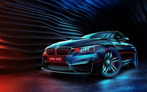 Picture Auto, BMW, Machine, Style, Car, Render, The front, 435i, Transport & Vehicles, Mohamed Khalil, BMW …