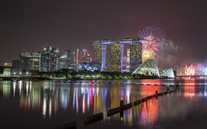 Picture the city, salute, panorama, Singapore
