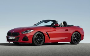 Picture the sky, asphalt, red, BMW, Roadster, BMW Z4, First Edition, M40i, Z4, 2019, G29