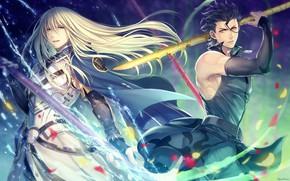 Picture guys, spears, Lancer, Fate / Zero, Fate / Grand Order