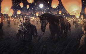 Picture The Witcher, Geralt, Witcher, The Witcher 2: assassins of kings, Medallion, Geralt of Rivia, Geralt …
