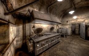 Picture kitchen, the basement, asylum