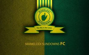 Picture wallpaper, sport, logo, football, Mamelodi Sundowns