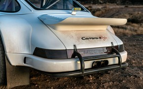 Picture dust, wing, 911, Porsche, bumper, 964, feed, 2019, 911 Baja Prototype, Russell Built Fabrication