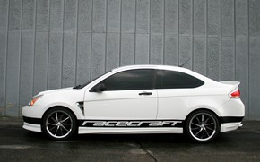 Picture Concept, Ford, 2008, Saleen, Focus, side view, RC2, Racecraft