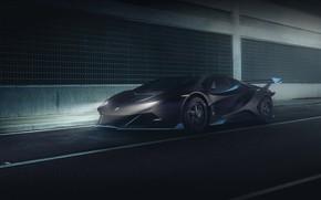 Picture Auto, Lamborghini, Machine, Car, Render, Supercar, Night, Aventador, Lamborghini Aventador, Rendering, Supercar, Concept Art, Sportcar, …