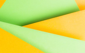 Picture line, abstraction, background, green, geometry, yellow, background, paper
