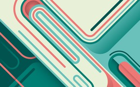Picture line, green, retro, background, pink, vector, background