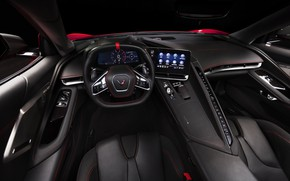 Picture Corvette, Chevrolet, Salon, The wheel, Stingray, 2020, Chevrolet Corvette ( C8 ) Stingray