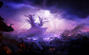 Picture Rain, Ori and the Will of the Wisps, Moon studios