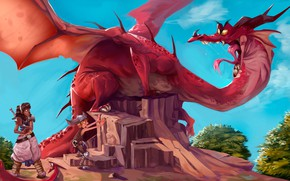 Picture Fantasy, Dragon, Illustration, by Alex Mamedes, Alex Mamedes, Dragon Brazil, Dragon Brazil
