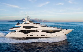 Picture sea, speed, yacht