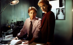 Picture the series, The X-Files, Classified material, Скалли, малдер