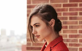 Picture look, girl, actress, Gal Gadot, Marie Claire
