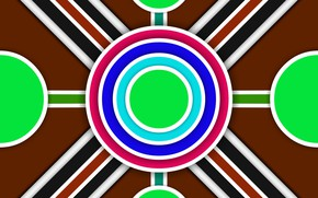 Picture circles, strip, figure