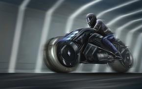 Picture Figure, Future, Speed, Bike, Moto, Fantasy, Art, Art, Fiction, Concept Art, Biker, Cyber, Cyberpunk, Transport …