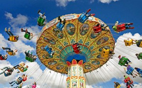 Picture entertainment, carousel, carnival