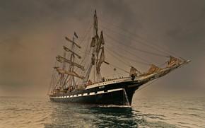 Picture sea, romance, ship, sailing