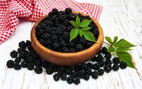 Picture berries, bowl, BlackBerry, Olena Rudo