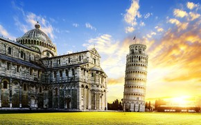 Picture Italy, Pisa, The leaning tower of Pisa