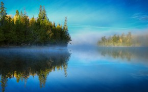 Picture nature, lake, space, river