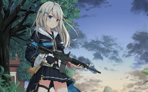 Picture weapons, Girls Frontline, girls front