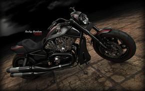 Picture design, transport, tile, shadow, Harley-Davidson Night Rod Special