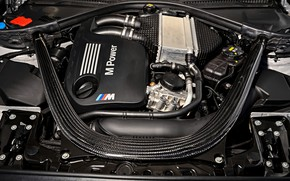 Picture engine, coupe, BMW, 2018, F87, M2, M2 Competition, 410 HP