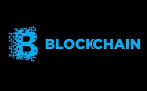 Picture black, blue, black, blue, fon, blockchain, blockchain