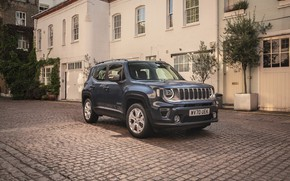Picture the building, Jeep, Limited, Renegade
