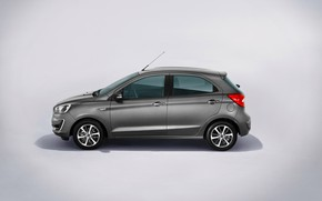 Picture grey, Ford, hatchback, Ultimate, Worldwide, To
