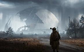 Picture art, Stalker, Stalker, Chernobyl, the sarcophagus, art, S. T. A. L. K. E. R., by …