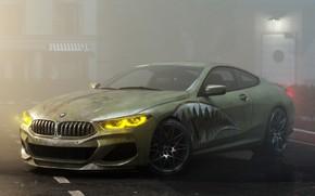 Picture rendering, BMW, 8-Series, BMW M8, M850i, by Alexander Lukyanenko