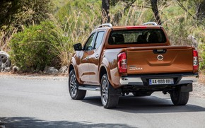 Picture Nissan, rear view, pickup, Navara, 2015, NP300