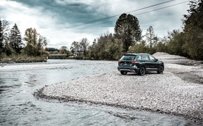 Picture river, rear view, crossover, ABBOT, Seat, 2019, Tarraco