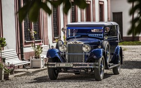 Picture convertible, 1932, Skoda, Skoda, 860 Cabriolet
