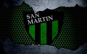 Picture wallpaper, sport, logo, football, San Martin