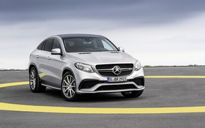 Wallpaper Mercedes, AMG, Coupe, 2016, 4Matic, GLE63