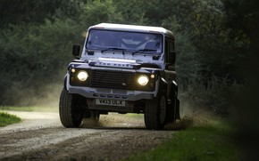 Picture road, Land Rover, Defender, 2013, 2014, Challenge, Bowler
