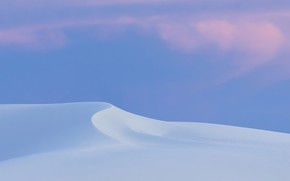 Picture the dunes, desert, white sand