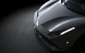 Picture Light, Ferrari, 458, White, Scuderia, Italia, LED