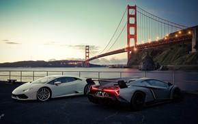 Picture rendering, Lamborghini, San Francisco, Gran Turismo, Veneno, Huracan, Gran Turismo Sport