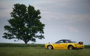 Picture Tree, Nissan, Car, 240SX, 1996, Rocket Bunny kit, Nissan 240SX, Nissan 240SX (S14)