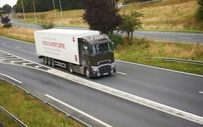 Picture markup, truck, Renault, tractor, 4x2, the trailer, Renault Trucks, T-series, transport interchange