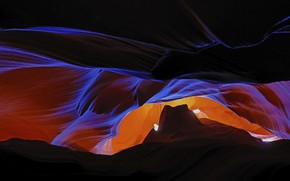 Picture AZ, gorge, USA, antelope canyon