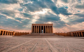 Picture Turkey, Capital, Ankara, Mausoleum, Mustafa Kemal Atatürk